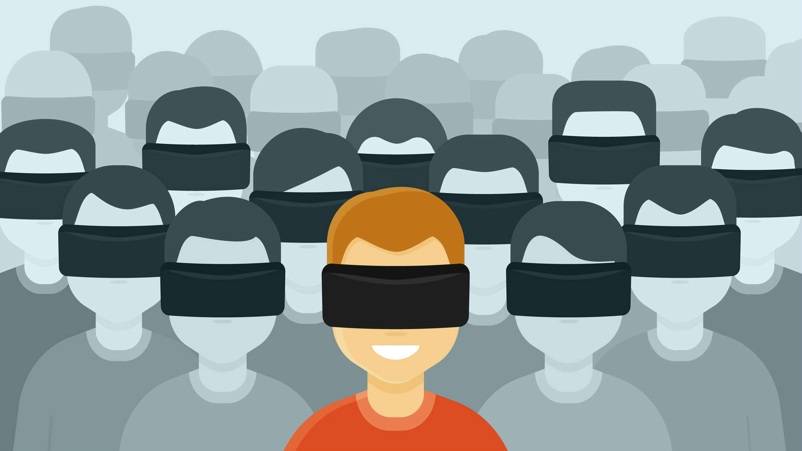 VR 360 Crowd