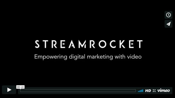 Empowering digital marketing with video