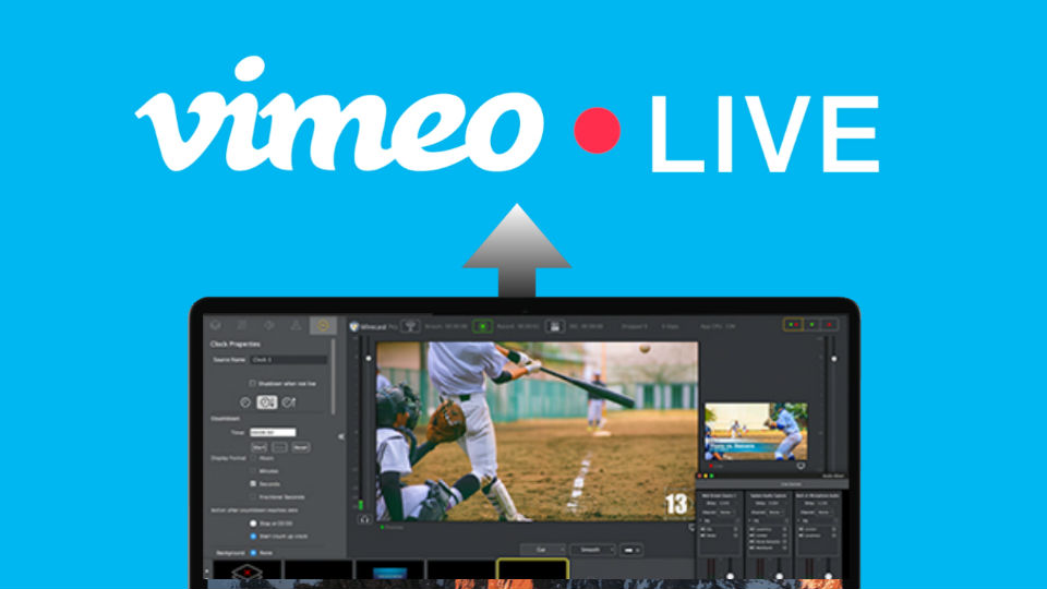 Streaming Vimeo Live